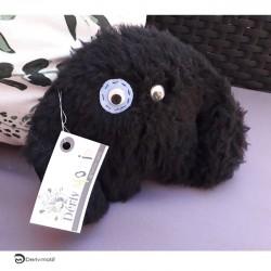 Peluche petit Yéti noir